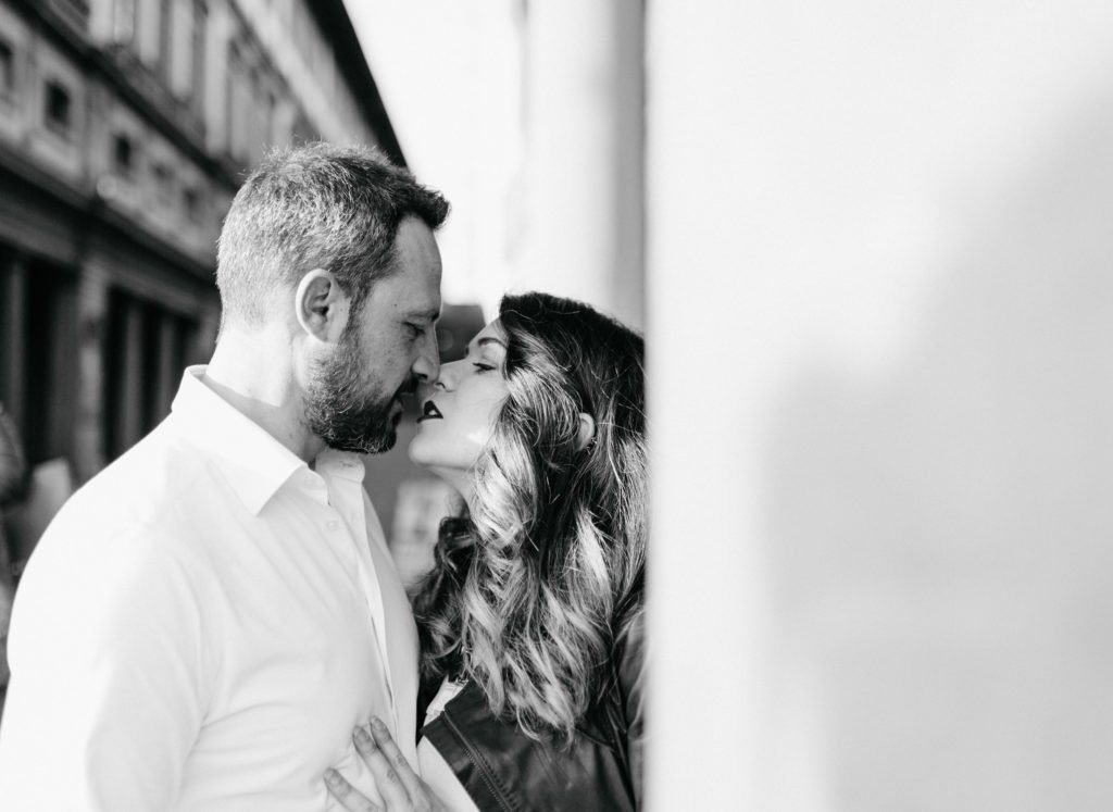 Romantic Elopement in Florence
