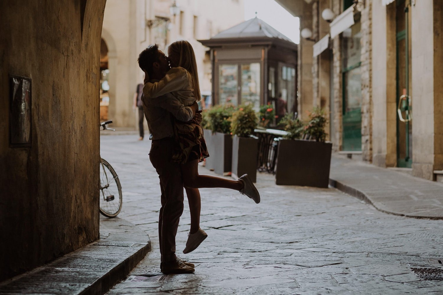 Engagement Photographer in Florence, Tuscany