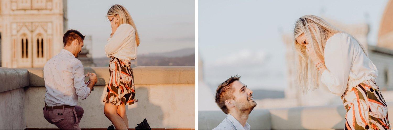 Engagement Photographer in Florence, Tuscany - Wedding Proposal