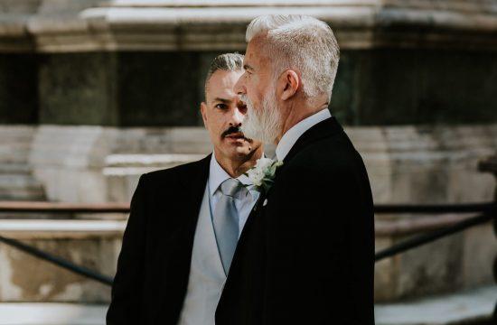 same sex wedding photographer in Florence