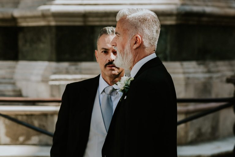 same sex wedding photographer in Florence